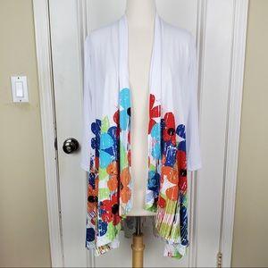 A Walk in the Park | Wet Paint Floral Kimono M
